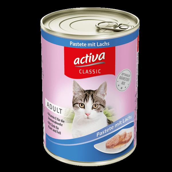activa CLASSIC Katze Pastete Lachs