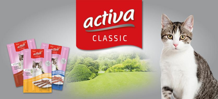 activa CLASSIC Katze Sticks