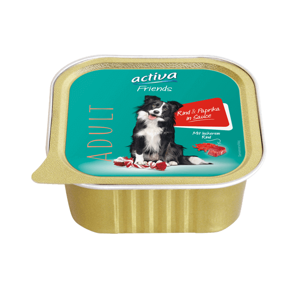 activa Friends Hund Adult Rind Paprika