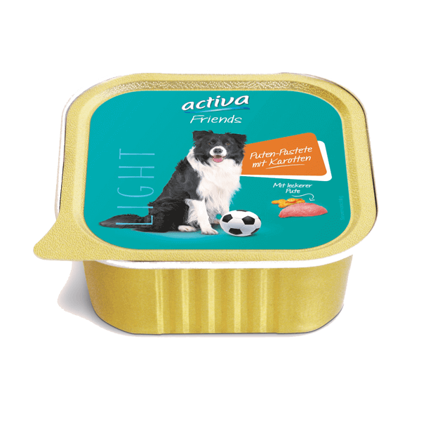 activa Friends Hund Light Puten Pastete