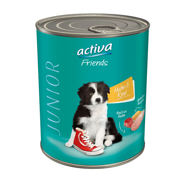 activa Friends Hund Junior Huhn Rind