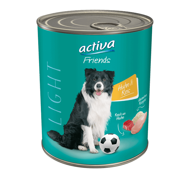 activa Friends Hund Light Huhn Reis