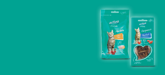 activa Friends Katze Snacks