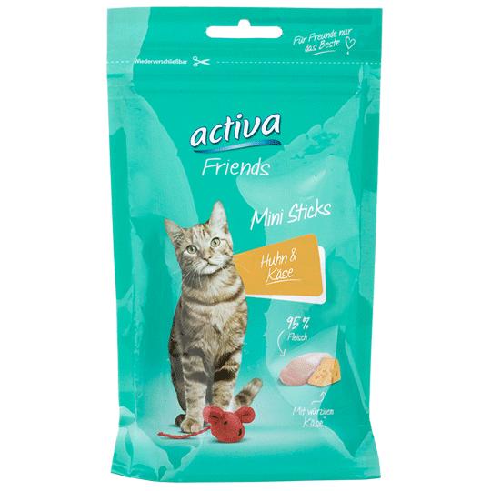 activa-Friends-Katze-Mini-Sticks-Huhn-Kaese-55g