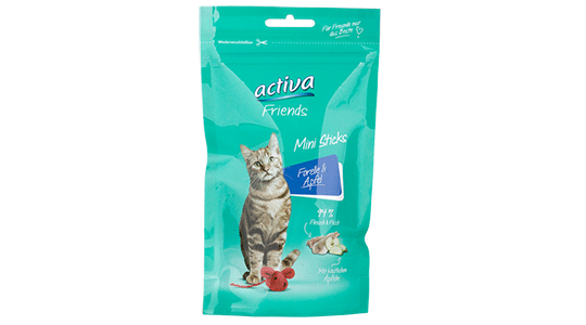activa Friends Mini Sticks - Forelle und Apfel