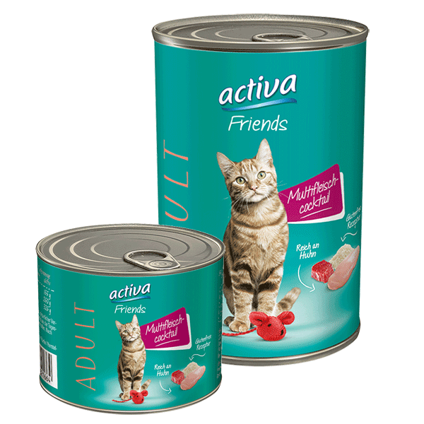 activa Friends Katze Adult Multifleischcocktail