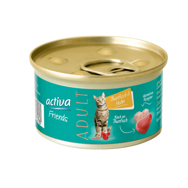 activa Friends Adult Thunfisch & Huhn