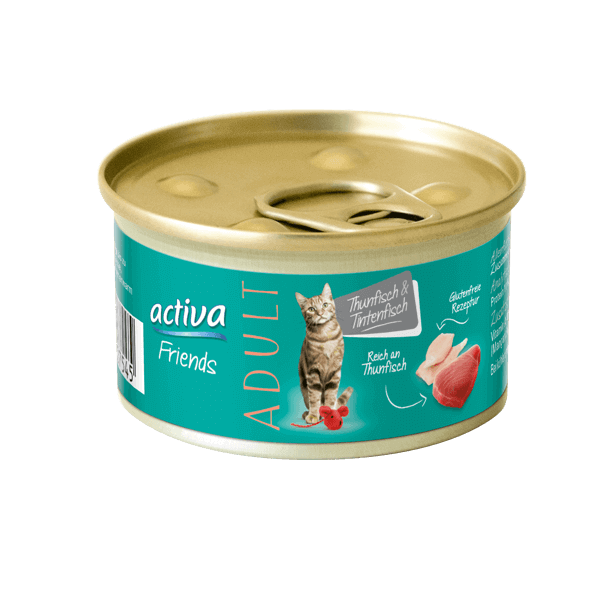 activa Friends Adult Thunfisch & Tintenfisch