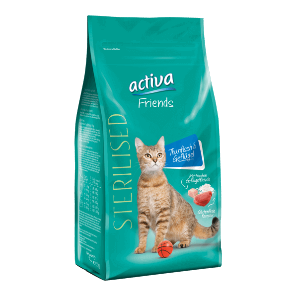 Activa Friends Katze Sterilised Trockenfutter