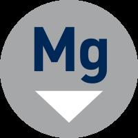 Niedriger Magnesiumgehalt