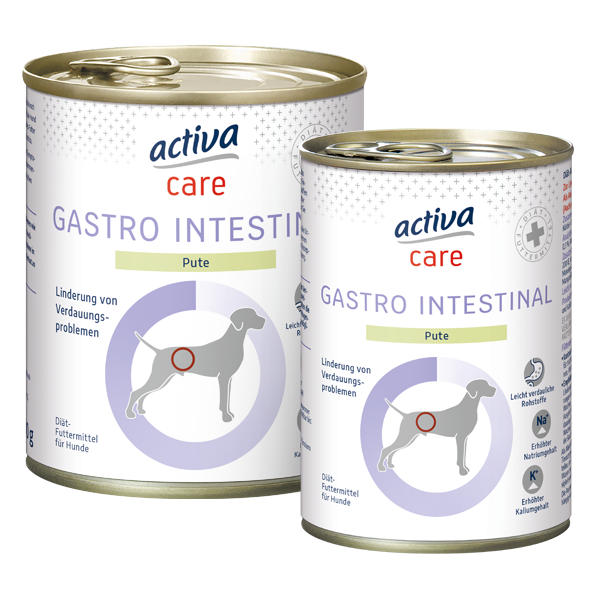 activa care Hund Nassnahrung Adult GASTRO INTESTINAL
