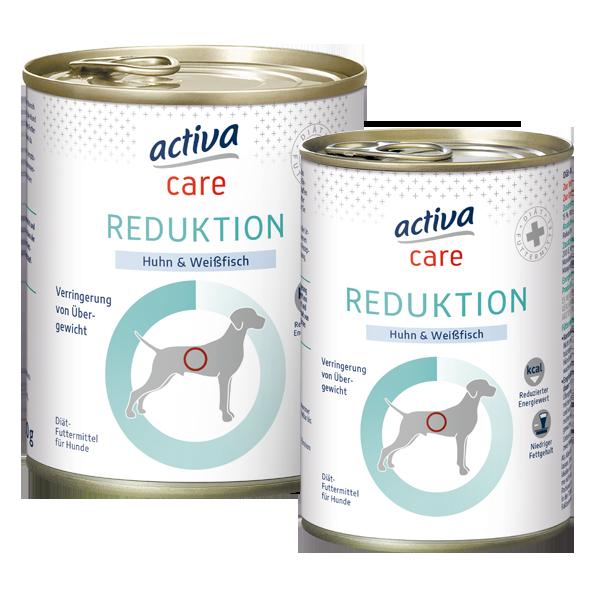 activa Care Hund Nassfutter Reduktion