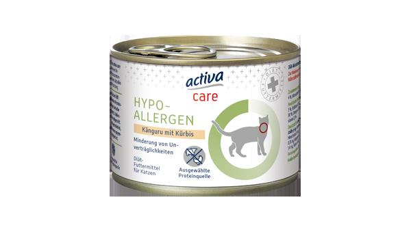 activa care Katzen Nassnahrung Hypoallergen