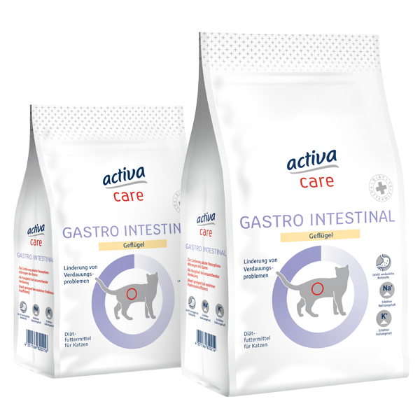 activa care Katzen Trockennahrung Gastro Intestinal