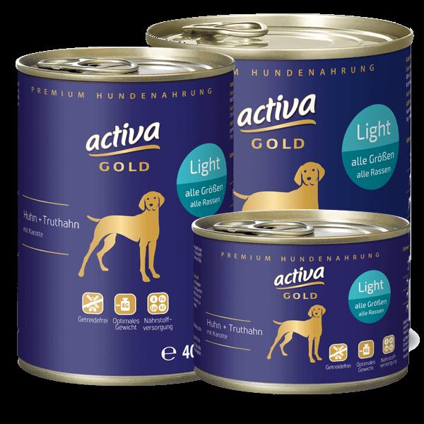activa GOLD Huhn und Truthahn Light