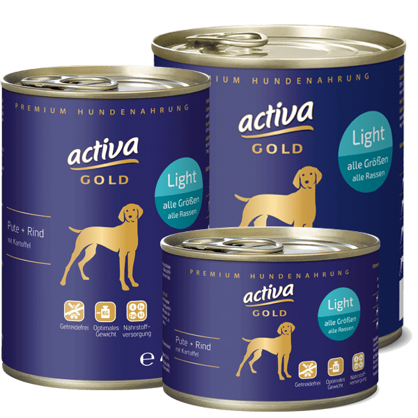 activa GOLD Pute und Rind Light