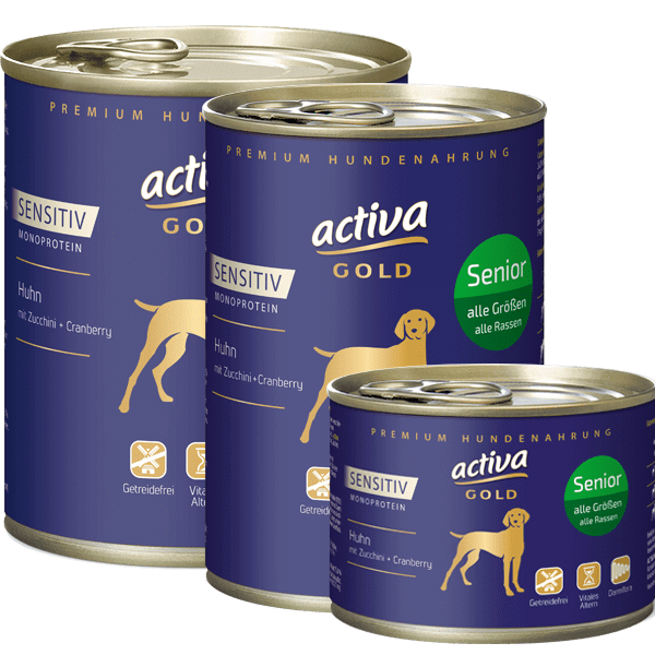 activa GOLD Sensitiv Huhn Senior