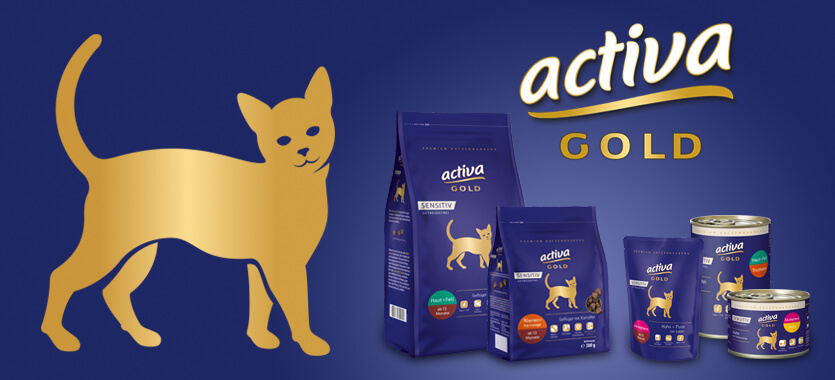 Activa Gold Sensitiv Katze bei Das Futterhaus