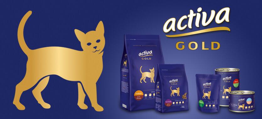 Activa Gold Katze bei Das Futterhaus