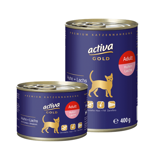 Activa Gold Adult Dose Huhn Lachs