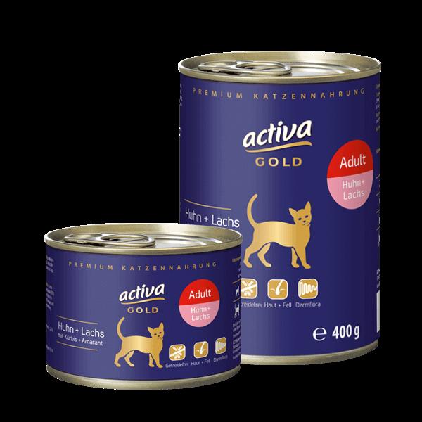 activa Gold Katze Adult Dose Huhn