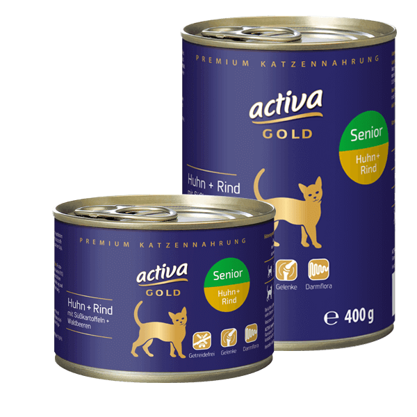 activa Gold Katze Senior Dose