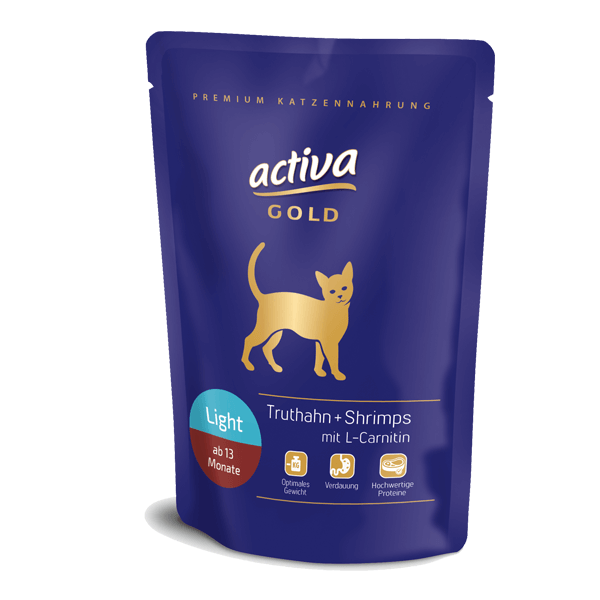 Activa Gold Katze Light Pouch