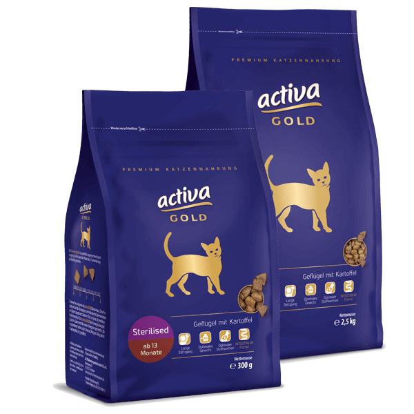 Activa Gold Sterilised
