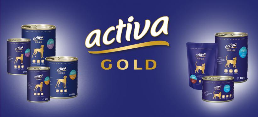 activa GOLD Light Nassfutter