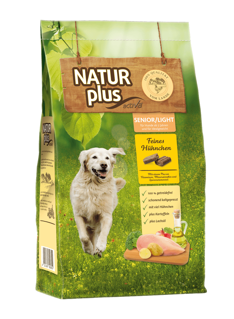Natur plus Hund Senior Light