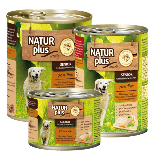 Natur plus Hund Senior Pute