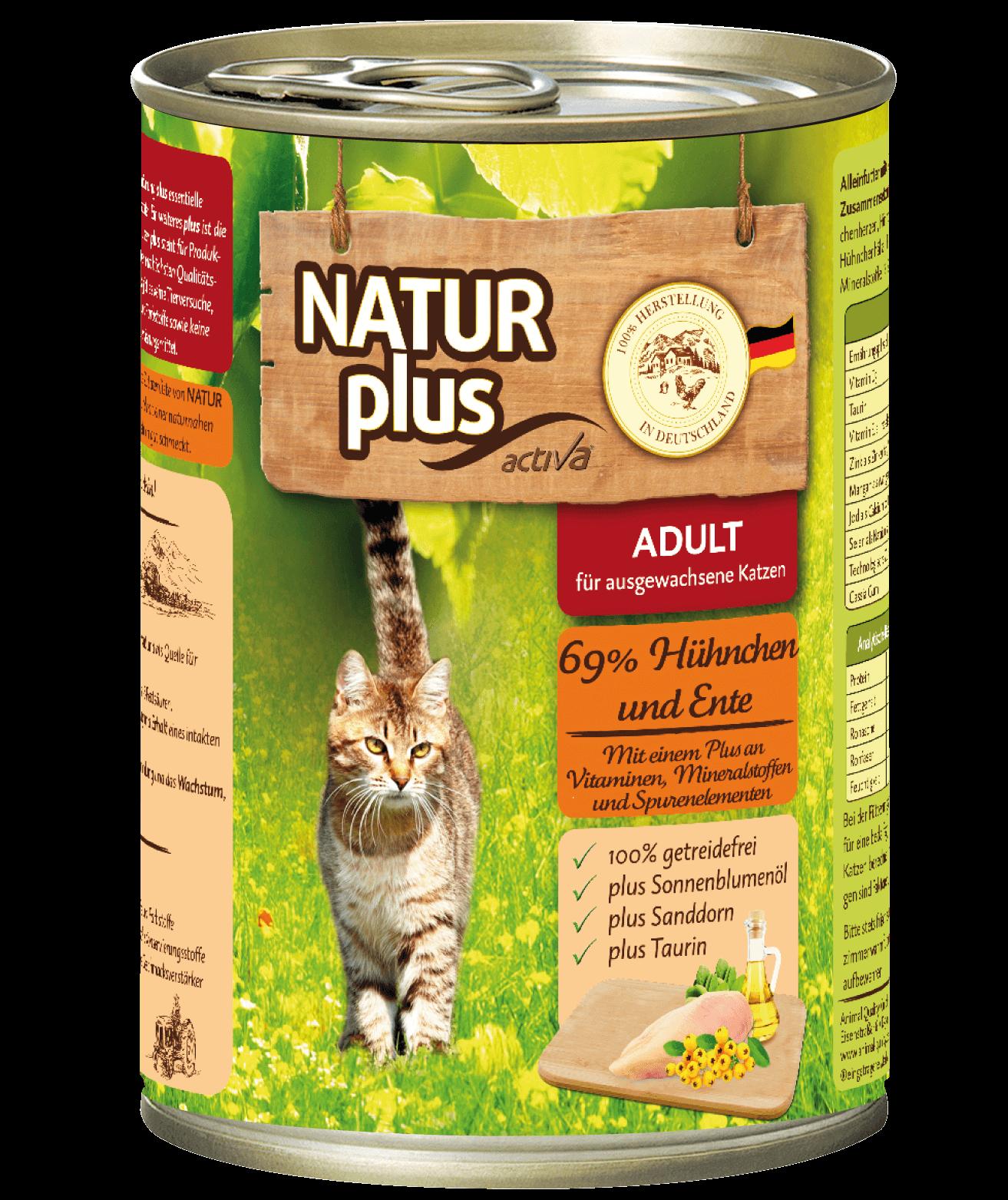 Natur plus Katze