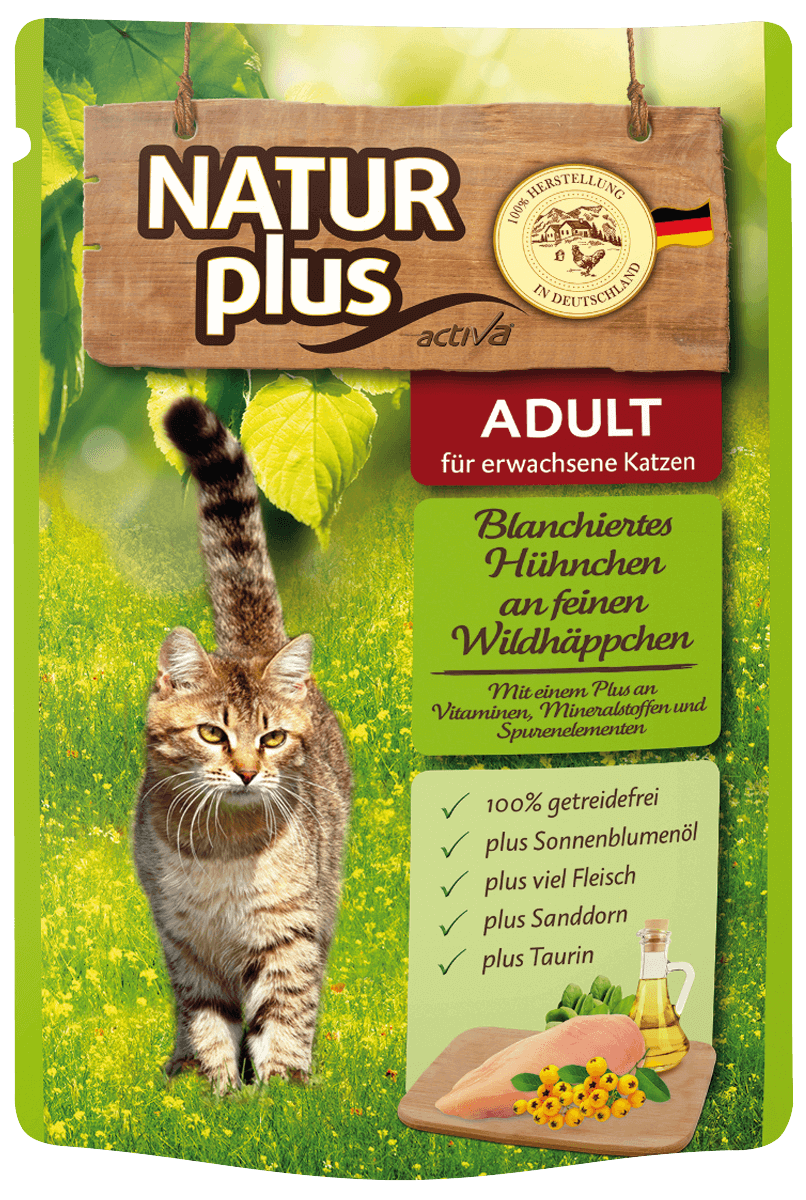 NATUR plus ADULT Pouchbeutel