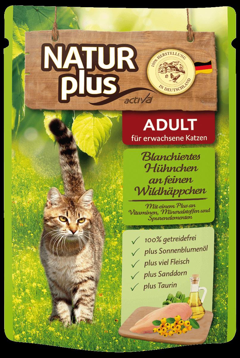 Natur plus Katze Pouchbeutel