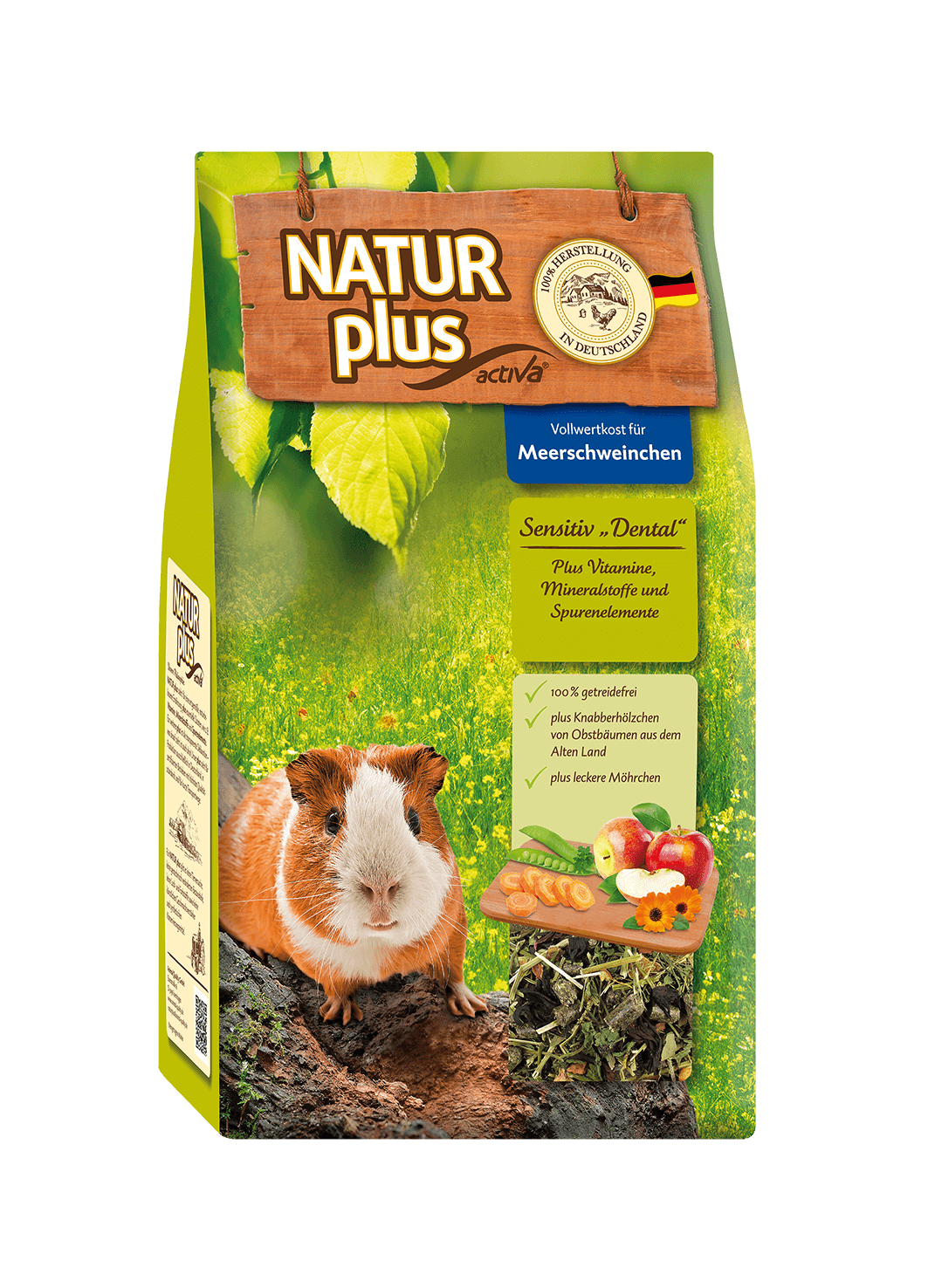 Natur plus Meerschweinchen Sensitiv Dental