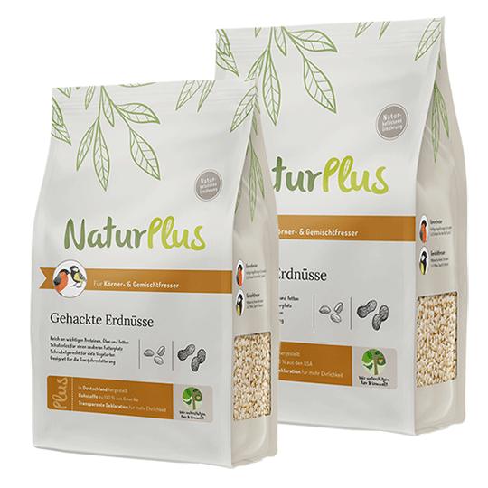 NaturPlus Gehackte Erdnüsse
