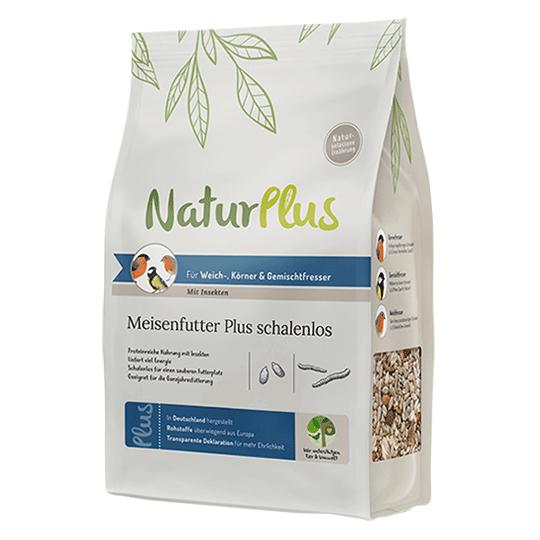 NaturPlus Meisenfutter Plus schalenlos – Mit Insekten