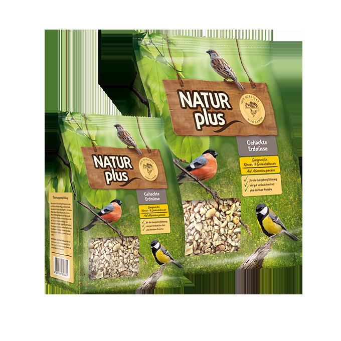 NATUR plus Gehackte Erdnüsse