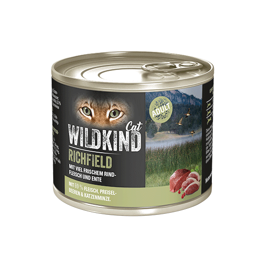 WILDKIND Cat RICHFIELD Adult Rind Ente
