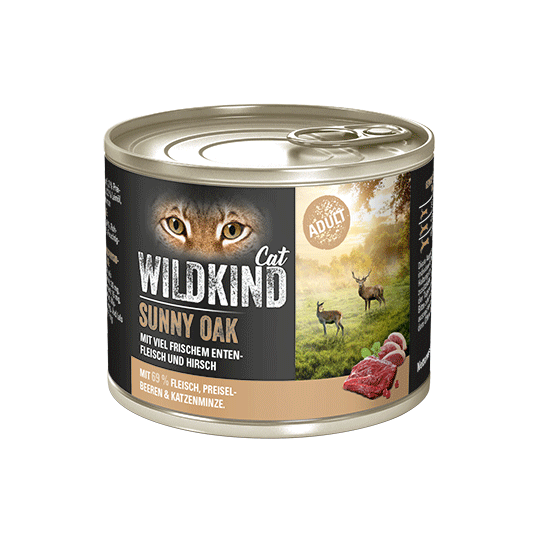 WILDKIND Cat SUNNY OAK Adult Ente Hirsch