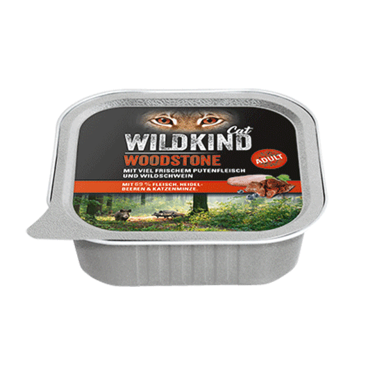 WILDKIND Cat Woodstone Adult Pute Wildschwein