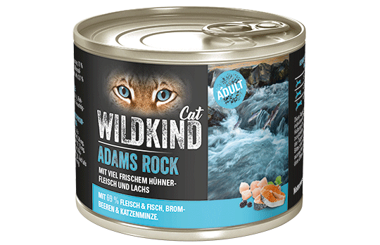 WILDKIND Cat ADAMS ROCK Adult Huhn und Lachs