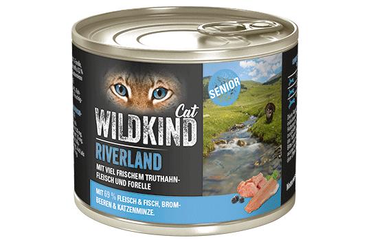 WILDKIND Cat RIVERLAND Senior Truthahn und Forelle