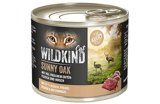WILDKIND Cat SUNNY OAK Adult Ente und Hirsch