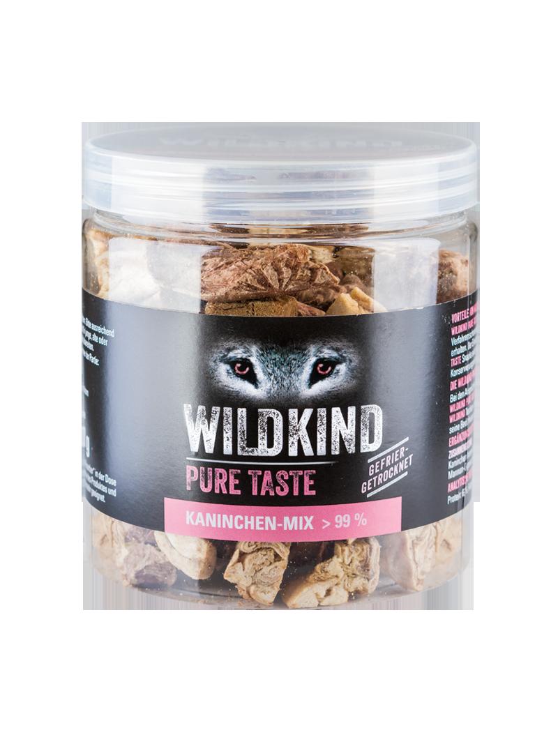 Wildkind Snacks Pure Taste Kaninchen-Mix