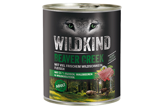 Wildkind Beaver Creek 800g Dose