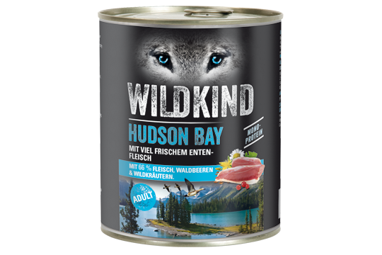 Wildkind Hudson Bay 800g Dose