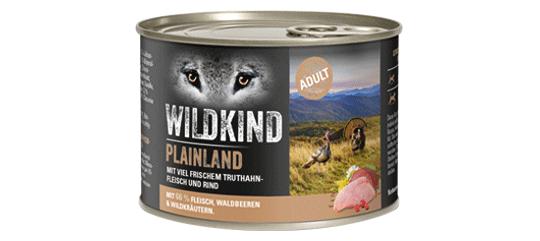 Wildkind Plainland 200g Dose
