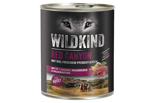 Wildkind Red Canyon 800g Dose