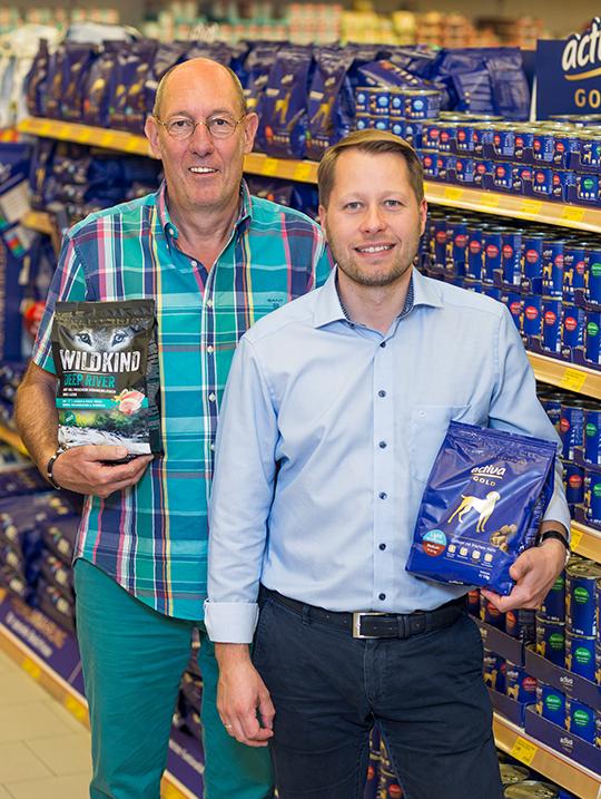 Herr Eggerstedt und Herr Schulz DAS FUTTERHAUS